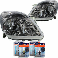 Headlight Set for Toyota Corolla Verso 01.02-04.04 HB3/HB4 without Motor