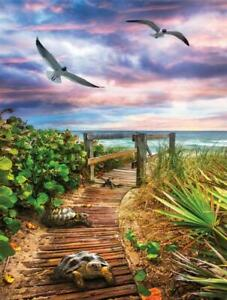 PATH TO THE BEACH by Celebrate Life Gallery  - SunsOut 500 piece puzzle - NEW