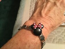 Minnie Mouse Ball marker bracelet, great gift for golfers!