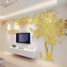 3D XX-Large Tree Arcylic Mirror Wall Sticker Room Decal Mural Art DIY Wall Decor