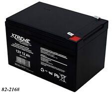 Gel AGM Batterie Xtreme 12V 12Ah zyklenfest wartungsfrei ersetzt 10Ah 14Ah 15Ah