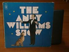 ANDY WILLIAMS THE ANDY WILLIAMS SHOW CBS 64127 CBS RECORDS VINYL LP ALBUM RECORD