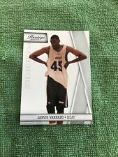 2010-11 Prestige Miami Heat Basketball Card #191 Jarvis Varnado Rookie