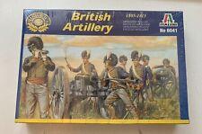 Italeri  #6041   1:72 scale  British Artillery 1805-1815    NIB     16 figures