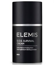 ELEMIS MEN S.O.S. Survival Cream Daily Moisturizer 50ml/1.6oz ~ SOS ~ $75
