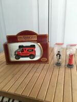 Promotorvans Special Edition Post Van With Figure Very Rare