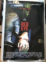 Red Eye - Original Double Sided 27x40 Theater Movie Poster - Wes Craven
