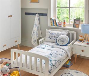 Disney Dumbo Elephant Kids Toddler Cot Junior Bed Duvet Cover Set