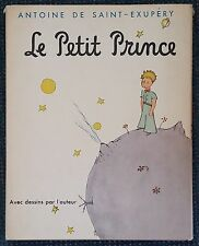 LE PETIT PRINCE by ANTOINE DE SAINT-EXUPERY 1943 HC/DJ FIRST EDITION FRENCH