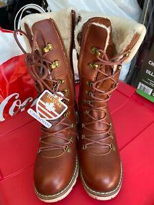 Royal Canadian LOUISE Waterproof Winter Boots w/ Shearling Cuff Women's Size 6