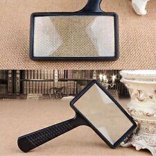 Handheld Rectangular 10X Magnifier Magnifying Glass Loupe For Reading Repairing