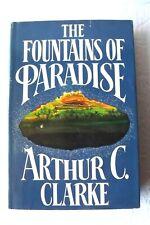 The Fountains of Paradise by Arthur C. Clarke HC/DJ BC