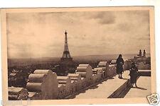 75 - cpa - PARIS - La Plate-forme de l'Arc de Triomphe