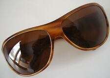 SALT. Optics RAESE Brown 14 Brown Polarized Wrap Ladies Medium Sunglasses JAPAN