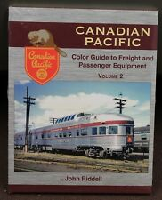MORNING SUN BOOKS - CANADIAN PACIFIC Color Guide Vol. 2 - HC 128 Pages