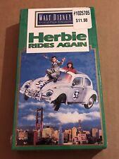 NEW SEALED Herbie Rides Again VHS Walt Disney Studio Film Collection