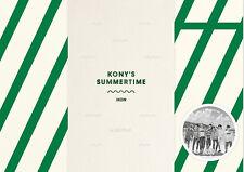 iKON [ KONY'S SUMMERTIME DVD ] 2DVD+PHOTOBOOK+TRAVEL POUCH+POSTER