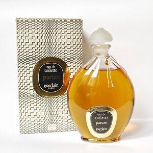 XL Vintage Guerlain PARURE eau de toilette 500ml 16.8 oz boxed perfume splash