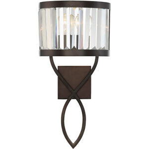 """Savory House 9-4062-1-28 Nora 1 10"""" Oiled Burnished Bronze Sconce Wall Light"""