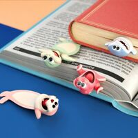 Wacky Stereo Kawaii Cartoon Bookmark 3D Animal Wacky Marine Bookmarks