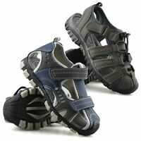 Boy/'s Leather Sandals with Leather Insole Arch Support size UK 9-13 EUR 27-32