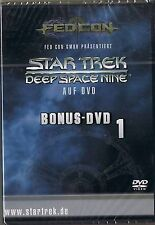 Star Trek Deep Space Nine Bonus DVD 1 FedCon NEU OVP