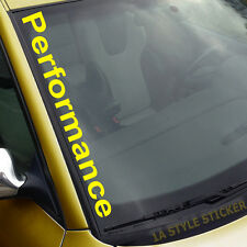 Performance autocollant M-Power Performance sticker jaune Performance selles f77