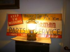 BRIGHT Coleman Gold Bond 200A single mantle lantern
