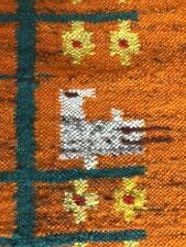 Tapestry Poland Polish Kraków Mid Century Heritage Culture Wall Art Birds Dove