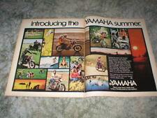 1972 Yamaha  Cycle Ad: Street / Enduro  models, JT-2, LT-2, AT-2, 650, 350, 250,