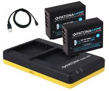 2 x Patona Platinum Akku + Dual-Ladegerät für Fuji-Film X-T3 - NP-W126-S