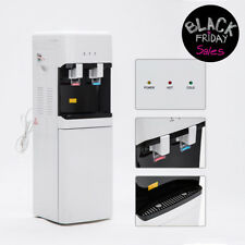 5 Gallon Hot/Cold Water Cooler Dispenser Water Top Loading Safety Lock Home