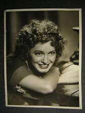 1938 Ellen Drew If I Were King VINTAGE 10x13 PHOTO OS45