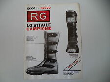 advertising Pubblicità 1976 STIVALI RG - BERGAMO