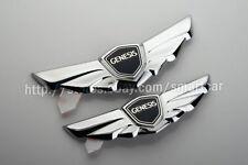 Wing Hood Trunk Lid emblem set for 2009 2010 2011 2012 2013 2014 Hyundai Genesis