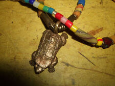necklace pendant jnra20 African Armadillo brass choker