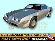 1978 1979 1980 Trans Am T/A 8 Piece Names Decals Stripes Kit (no hood bird)