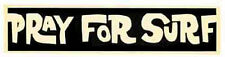 Pray for Surf Vintage 1960 S Style Travel Sticker Decal