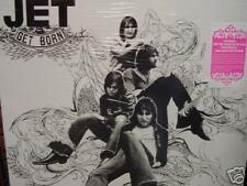 JET GET BORN Black Vinyl WITH ORIGINAL ELEKTRA PINK STICKER RARE 1STED Sealed LP