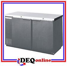 Beverage-Air Bev Air Bb68Hc-1-B Solid Door Back Bar Refrigerator Black