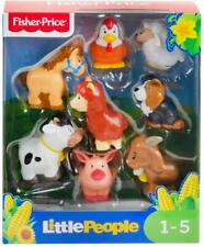 Fisher-Price Little People - Farm Animal Friends Figure Set of 8 - New