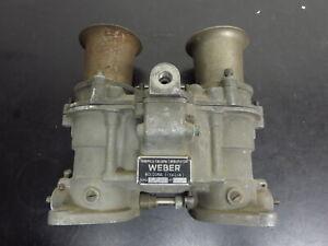 Original Rare Early Weber 48IDM #44 Vintage Classic Ford Shelby Cobra GT40 V8
