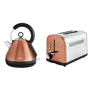 Goodmans COPPER - Kettle and Toaster Set