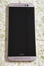 HTC One M9 ??GB Gold on Silver (AT&T) Smartphone *Broken - No Power, Vibrates*