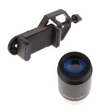 """Teleskop Okular PL32 Plossl 1,25 """"+ Handyhalter für Teleskop Fernglas"""