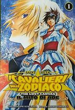 MANGA - I Cavalieri dello Zodiaco Lost Canvas il Mito di Ade N° 1
