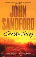 CERTAIN PREY by JOHN SANDFORD (Paperback, 2004) GOOD/FAIR CONDITION