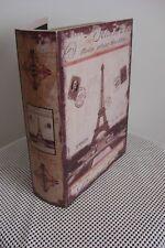 Tour Eiffel Livre Boîte de conservation, 2 disponible