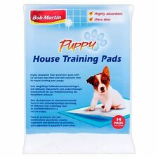 Bob Martin PUPPY House Training Pads 14 Pads Highly Absorbent Floor Protection