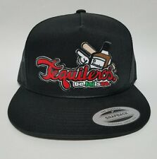 TEQUILEROS DE JALISCO HAT BLACK MESH TRUCKER SNAP BACK ADJUSTABLE NEW 213cba7d850c